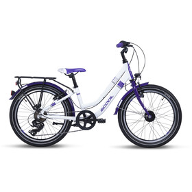 s'cool chiX twin alloy 20 7-S Niños, white/violett